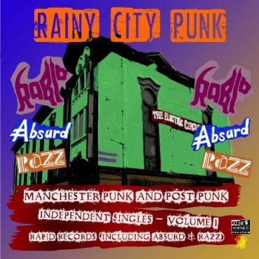 Various Artist - Rainy City Punks - Manchester Punk And Post Punk Independen // LP neuf