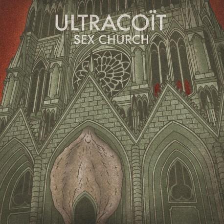 "Ultracoït ""Sex Church""  // LP neuf"