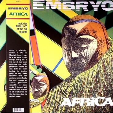 Embryo - Africa // LP+CD neufs