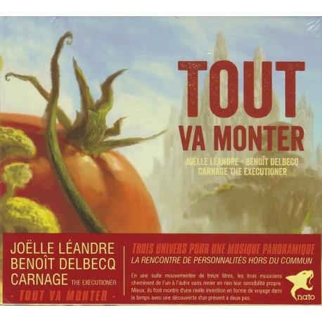 Joëlle Léandre/Benoît Delbecq/Carnage The Executioner - Tout Va Monter // CD neuf