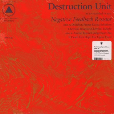 Destruction Unit - Negative Feedback Resistor // LP neuf