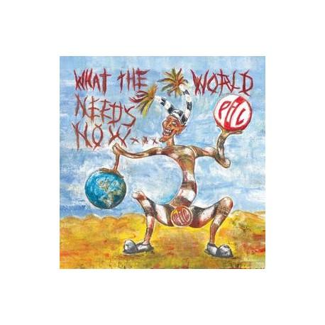 Public Image Ltd - What The World Needs Now // 2LP neufs
