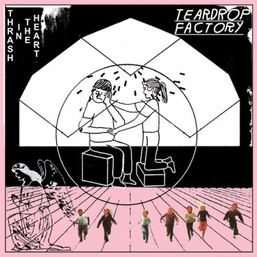 Teardrop Factory ‎– Thrash In The Heart // LP neuf