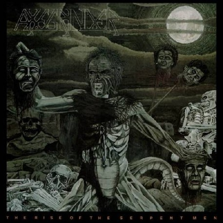 Axegrinder - The Rise Of The Serpent Men // LP