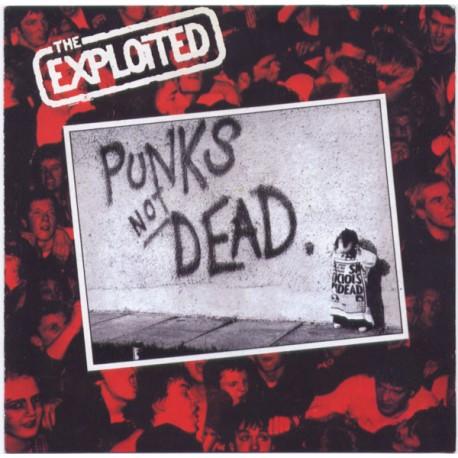 The Exploited - Punks Not Dead. // LP