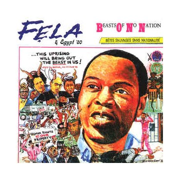 Fela Anikulapo-Kuti & Egypt 80 - Beasts Of No Nation // LP