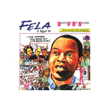 Felz Anikulapo Kuti & Egypt 80 - Beasts Of No Nation // LP