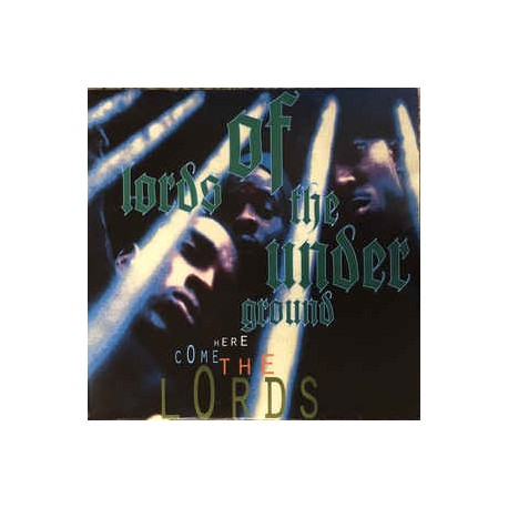 Lords Of The Underground - Here Come The Lords // 2 ltd green LP