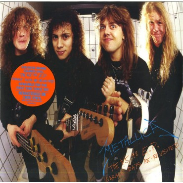 Metallica - The 5.98 E.P.-Garage Days Re-Revisited // colored 12""