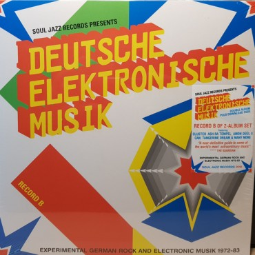 Deutsche Elektronische Musik (ExperimentaGerman Rock And Electronic Musik 1972-83 - Record B // 2LP