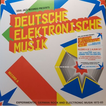 Deutsche Elektronische Musik (ExperimenGerman Rock And Electronic Musik 1972-83 - Record A // 2LP