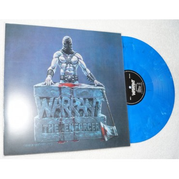 Warrant - The Enforcer // Limited, Numbered, Blue/Black/White Marble LP