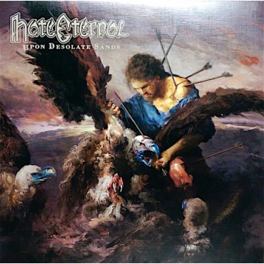 Hate Eternal - Upon Desolate Sands // Ltd gold LP