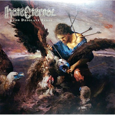 Hate Eternal - Upon Desolate Sands // Ltd gold LP