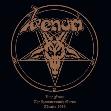Venom - Live From The Hammersmith Odeon Theatre // 2 Ltd red LP