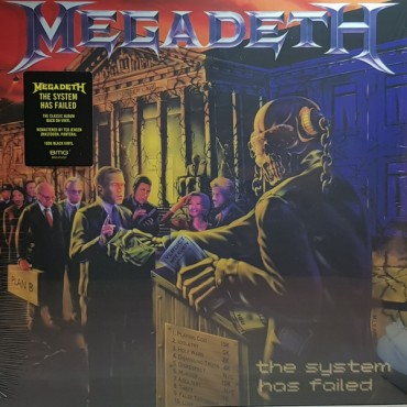 Megadeth - The System Has Failed // LP
