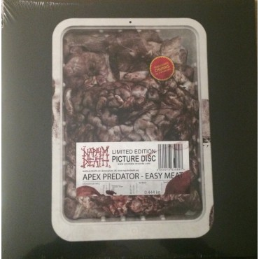 Napalm Death - Apex Predator - Easy Meat // Pcture disc LP