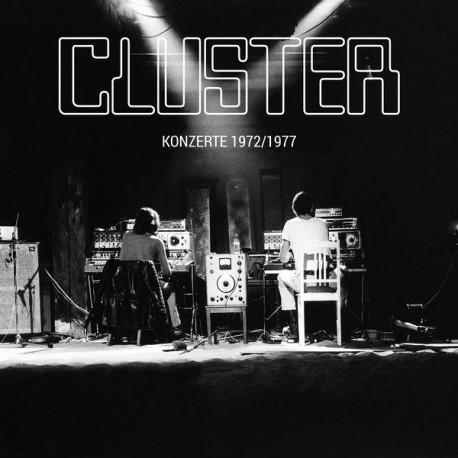 Cluster - Konzerte 1972/1977 // LP+CD