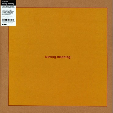 Swans - Leaving Meaning. // 2LP