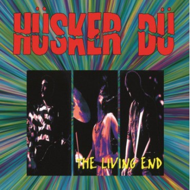 Hüsker Dü - The Living End - 2 Ltd, Numbered, Red LP