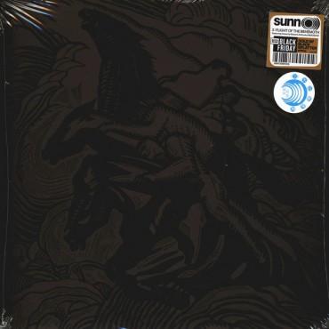 Sunn O))) - 3: Flight Of The Behemoth // 2LP, Gold w/ Black Splatter