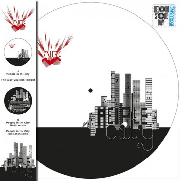 AIR - People In The City // 12''