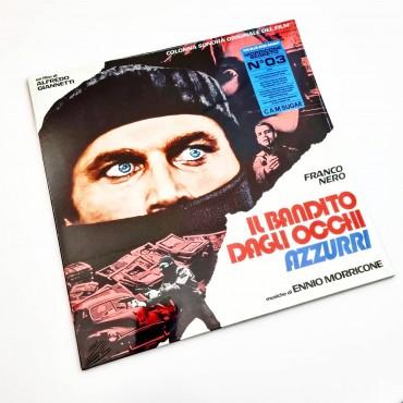 Ennio Morricone - Il Bandito Dagli Occhi Azzurri // LP, ltd, blue