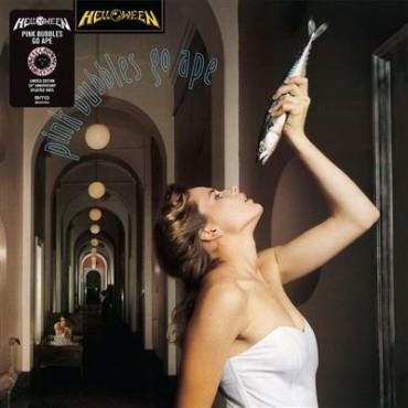 Helloween - Pink Bubbles Go Ape // LP, ltd, splatter (pink and black)