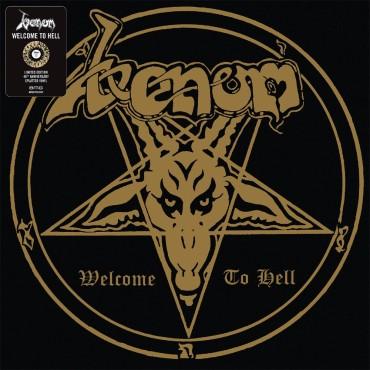 Venom - Welcome To Hell // LP, ltd, Splatter (Gold and black)