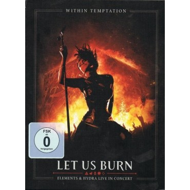 Within Temptation - Let Us Burn // 2 CD neufs