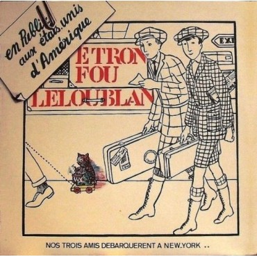 Etron Fou Le Loup Blanc - En public aux USA // LP neuf