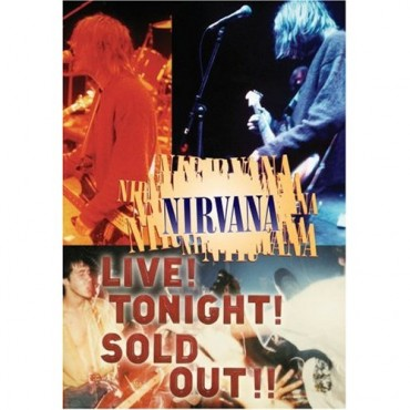 Nirvana - Live! Tonight! Sold out!! // DVD neuf